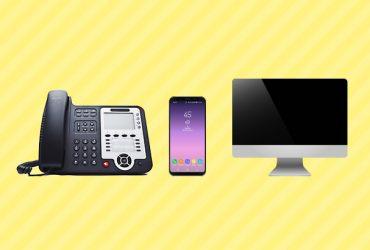 クラウドPBX型ビジネスフォンで使える電話機は3種類!