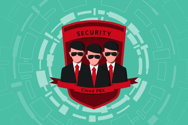 クラウドPBXのセキュリティ!データはクラウド上に保存されるので安心!